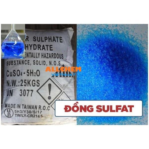 Hóa chất đồng sunfat là gì?