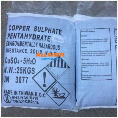 Hóa chất đồng sunfat, copper sulfate, cuso4 24.5% min