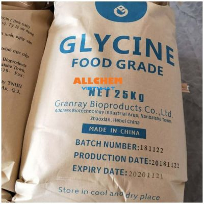 Glyxin, glycine, aminnoacetic acid, C2H5NO2