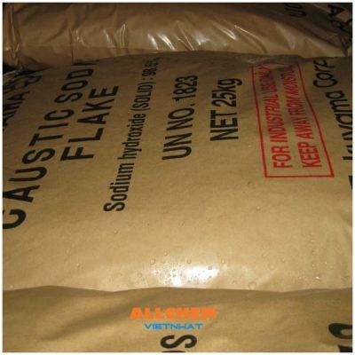 Xút vảy, Natri hiđroxit, NaOH 99% min