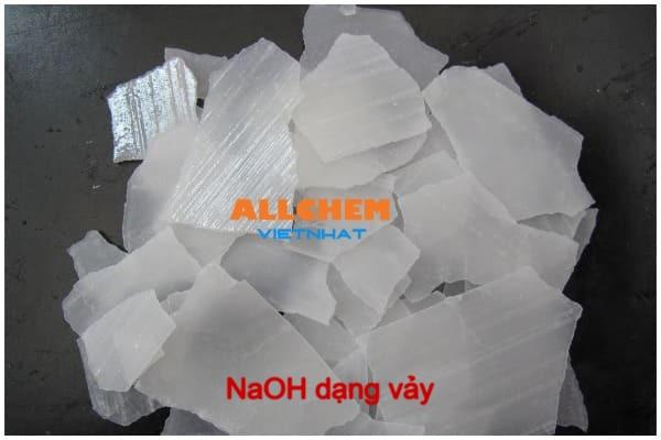 Hóa chất NaOH dạng vảy