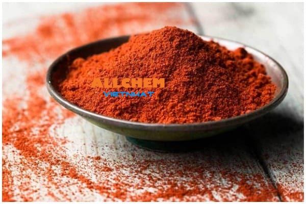 Paprika tan trong dầu
