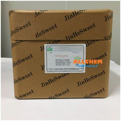 Sucralose, C12H19Cl3O8, Chất tạo ngọt E995
