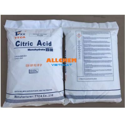 Acid Citric Monohydrate, Axit chanh