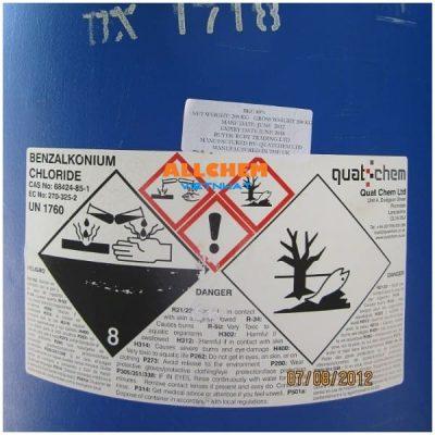 Hóa Chất BKC Anh, Benzalkonium Chloride 80%