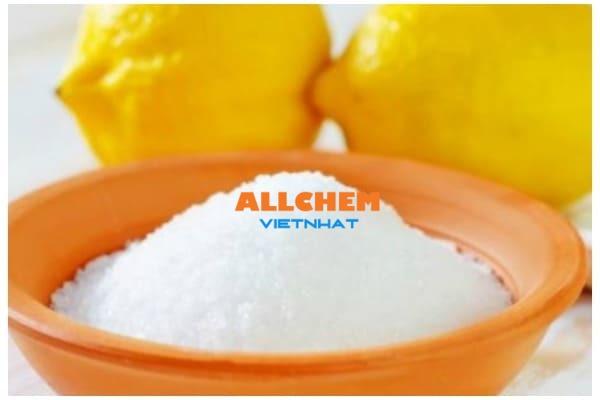 Hóa chất axit citric là gì? có ứng dụng ra sao?